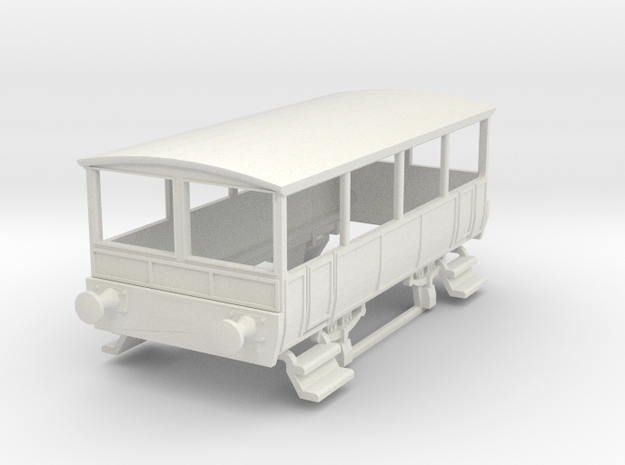 o-87-wcpr-drewry-open-railcar-trailer-1 in White Natural Versatile Plastic