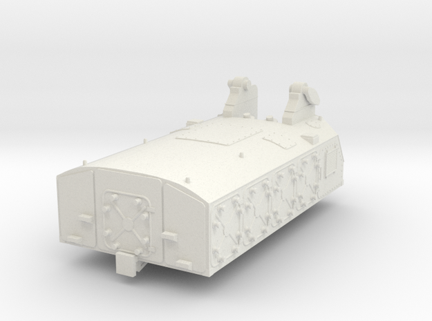 1:72 - SA 5 Gammon Rocket & Launcher [Part 1 of 4] in White Natural Versatile Plastic