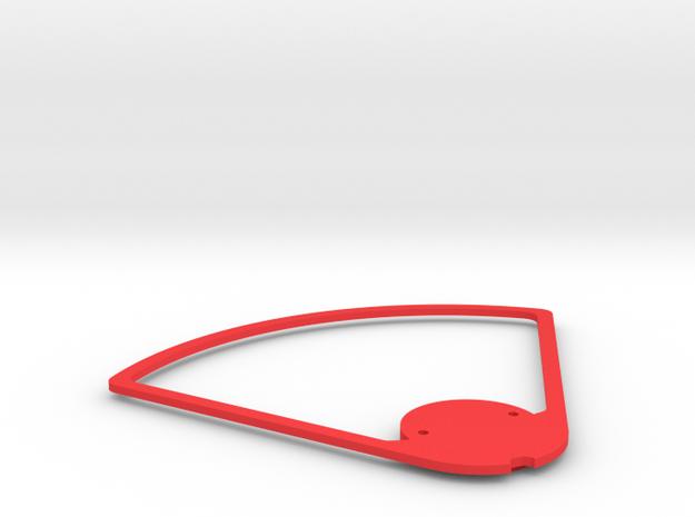 DJISPARK Propeller Guard and Esc Cover 0,1g in Red Processed Versatile Plastic