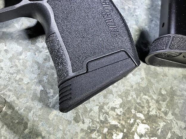 SIG P365 - Medium Extended Base Pad in Black Natural Versatile Plastic
