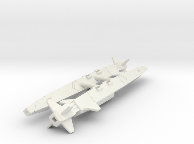 ACSWS-1A (duo pack) in White Natural Versatile Plastic: 1:60
