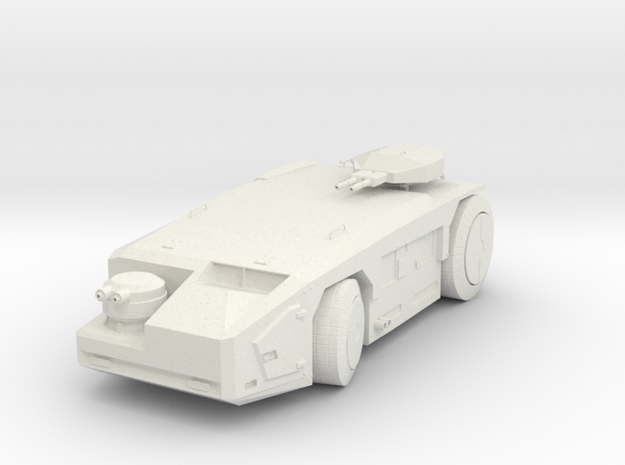 APC Miniature in White Natural Versatile Plastic