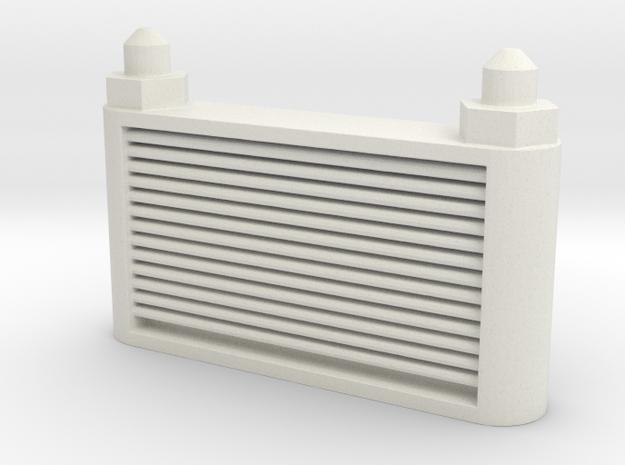 Oil Cooler in White Natural Versatile Plastic