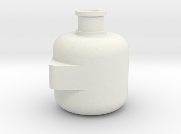 Rc Scale Alternator for RC Car in White Natural Versatile Plastic