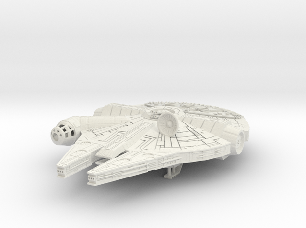 Millennium Falcon  YT 1300 Lt Freighter in White Strong & Flexible