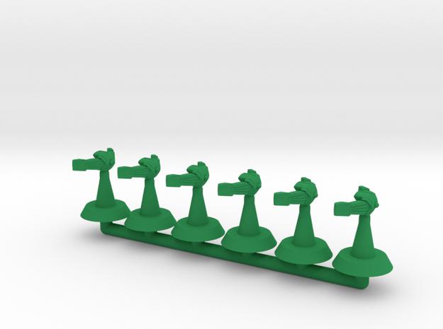 Soprano Assault Frigate -1:20000 in Green Processed Versatile Plastic