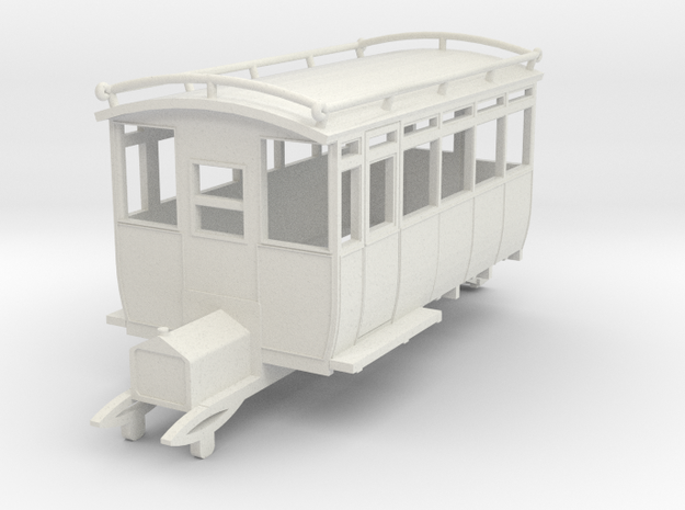 0-76-wolseley-siddeley-railcar-1 in White Natural Versatile Plastic