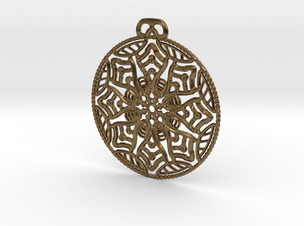 Everblessed Table Pendant in Natural Bronze