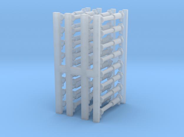 ICR  schokbreker 32 stuks H0 in Smoothest Fine Detail Plastic