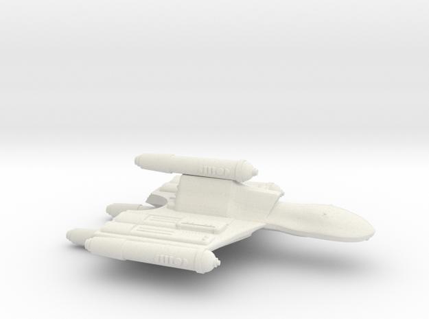 3125 Scale Romulan OmniHawk Light Dreadnought MGL in White Strong & Flexible