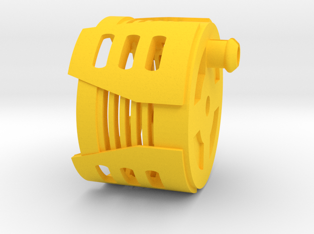 Destiny-P2(+) in Yellow Processed Versatile Plastic