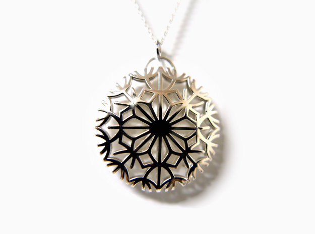 Dandelion seeds pendant(32mm)
