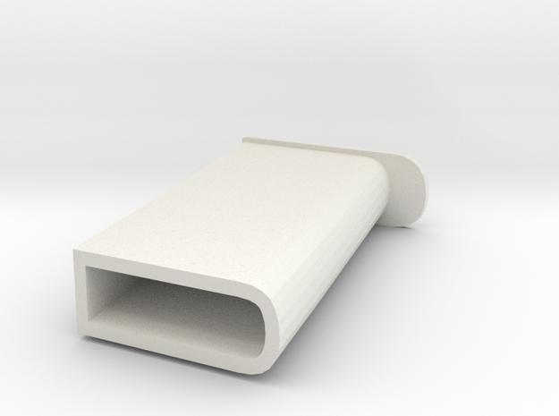 JUMBO P E Z CANDY DISPENSER  in White Natural Versatile Plastic
