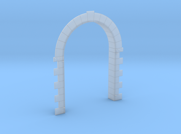 Alpine Enginehouse Large Door Frame in Smooth Fine Detail Plastic: 1:87 - HO