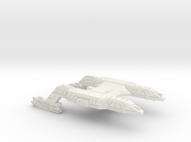 3788 Scale Lyran Refitted Panther Light Cruiser CV in White Strong & Flexible