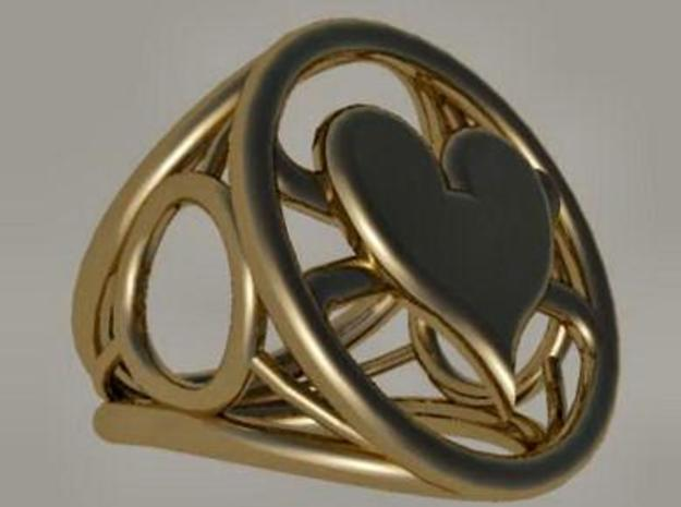 Size 25 5 mm LFC Hearts 3d printed