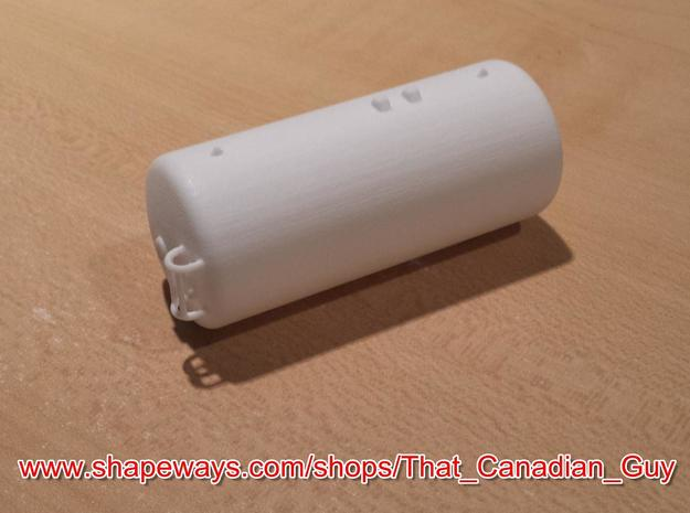 1/64 (S) Scale 3000gal NH3 Tank in White Processed Versatile Plastic