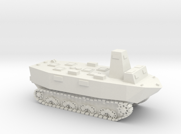 WWII Japanese Ka-Tsu tank 1:72 - without Torpedos in White Natural Versatile Plastic