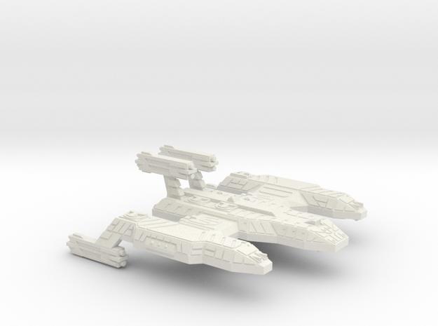 3125 Scale Lyran Cave Lion Battleship (BB) CVN in White Strong & Flexible