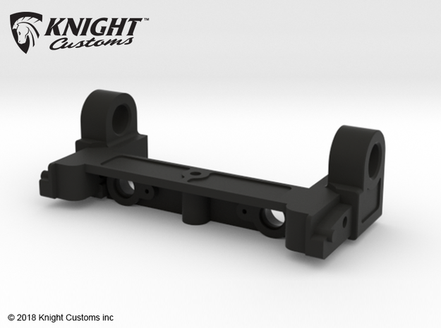AH10018 Honcho rear cage hinge in Black Natural Versatile Plastic