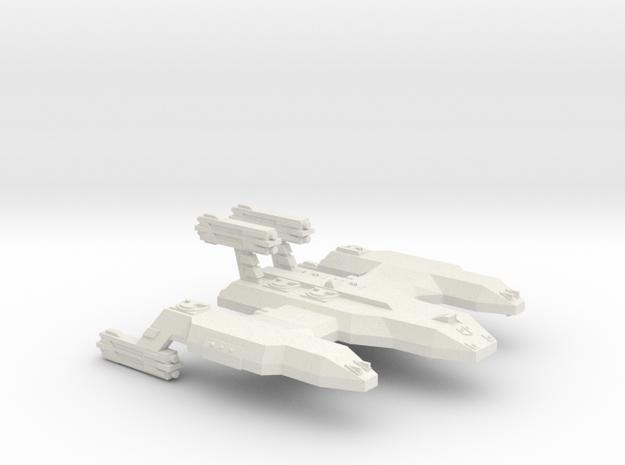 3788Scale Lyran Unrefitted Cave Lion Battleship in White Natural Versatile Plastic