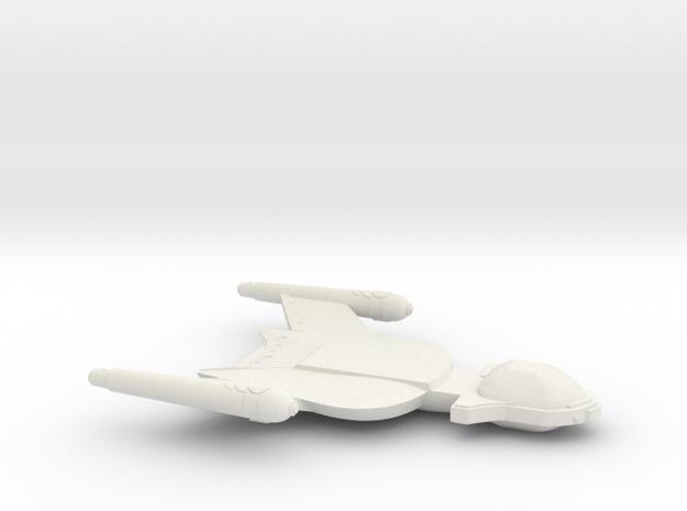 3788 Scale Romulan Shrike Light Dreadnought MGL in White Strong & Flexible