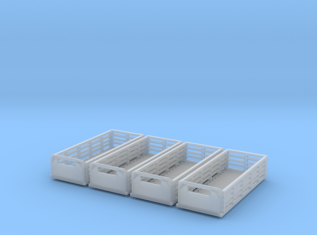 20ft Stake Beds n scale in Smooth Fine Detail Plastic