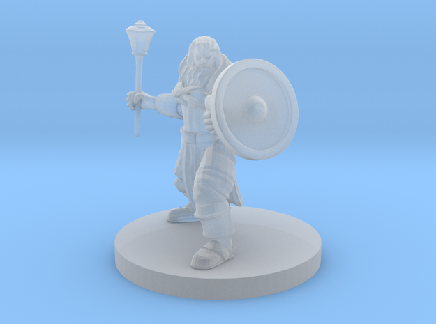 Cleric of Battle with Mace