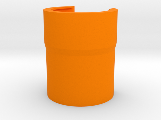 puller 400 guard in Orange Processed Versatile Plastic