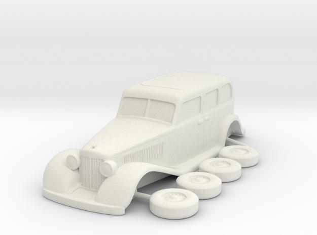 Chrysler 1931 Imperial esc:1/72 in White Natural Versatile Plastic