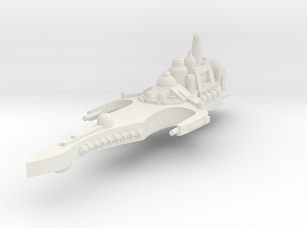 Crucero de la edad oscura in White Natural Versatile Plastic