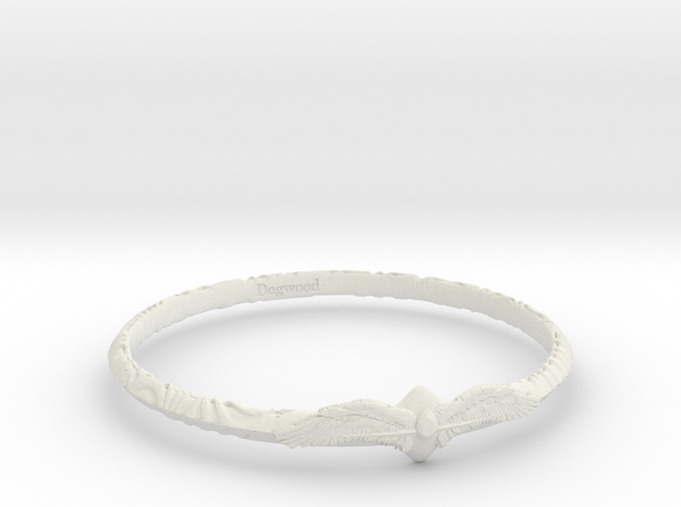 Angelring in White Natural Versatile Plastic