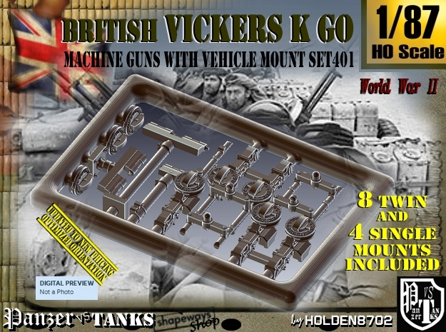 1/87 Vickers K GO Set401
