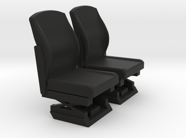 FTF Cab Part 4 Seats in Black Natural Versatile Plastic