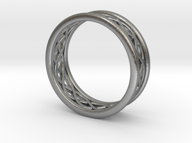Celticring010 in Natural Silver
