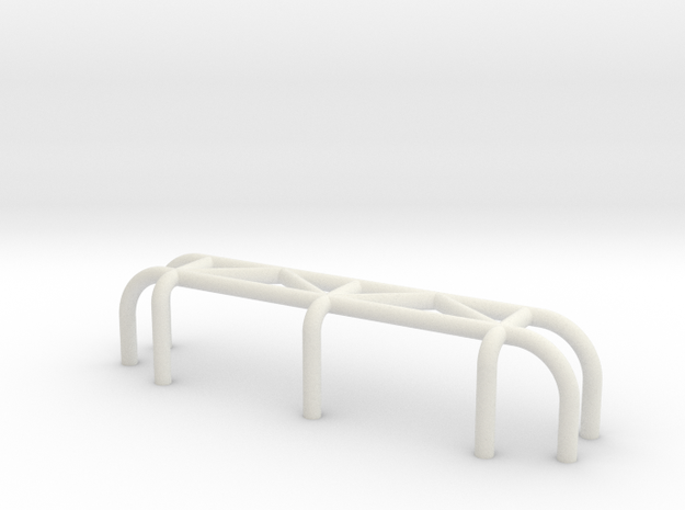 Team Crab_Walk - bashbar type 3 in White Natural Versatile Plastic