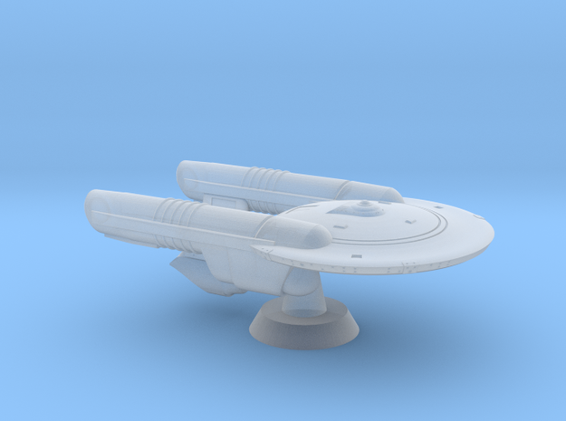 Terran River Class Destroyer - 1:7000 in Smooth Fine Detail Plastic