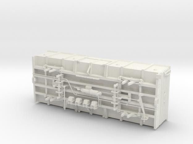 NZR 9mm/P34 Lc3 Complete in White Natural Versatile Plastic
