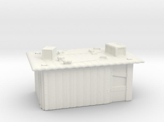 Tin Slum 1  in White Natural Versatile Plastic