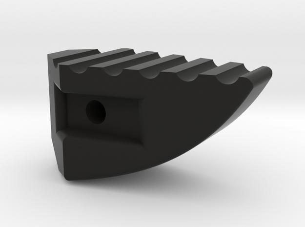 Deranged Masada charging handle in Black Natural Versatile Plastic