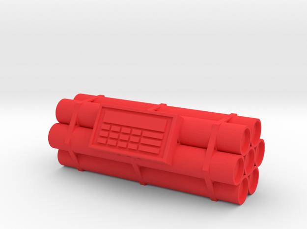 TNT dynamite bomb - 7 sticks - 1:1 scale