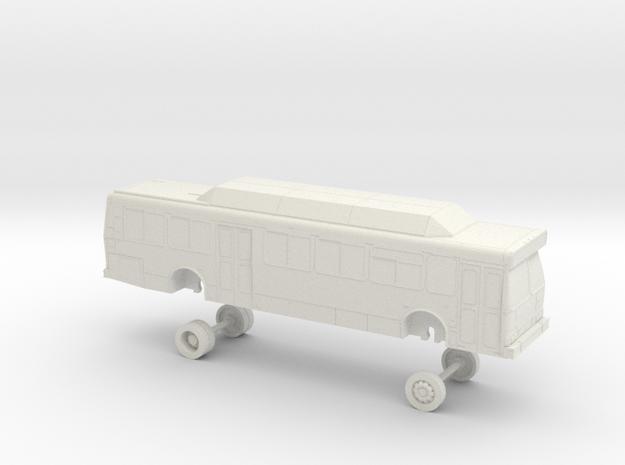 HO Scale Bus Orion V Yolobus 708-713 in White Natural Versatile Plastic