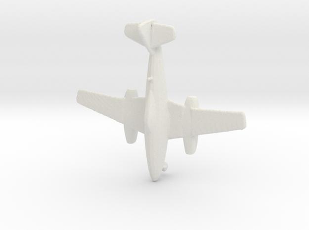 1:285    Messerschmitt Me-262 A-1a     (Gear Down) in White Natural Versatile Plastic