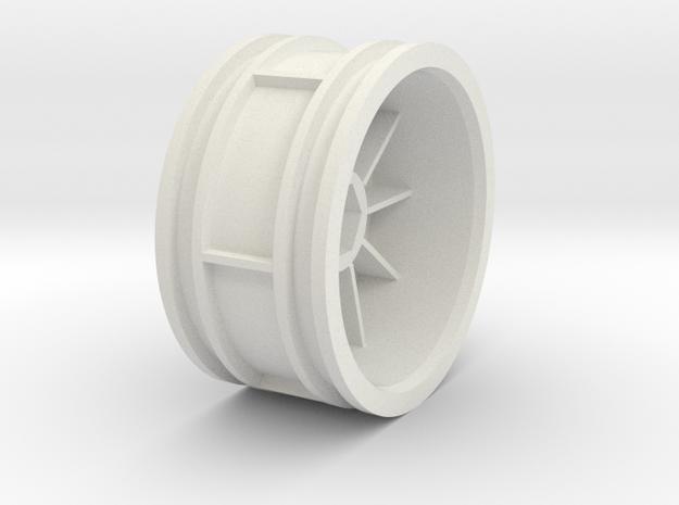959-rim - DF03RA in White Natural Versatile Plastic