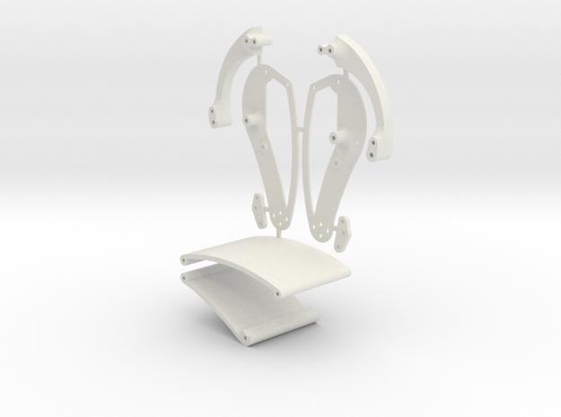 Stingray Chassis V4 Kit in White Natural Versatile Plastic