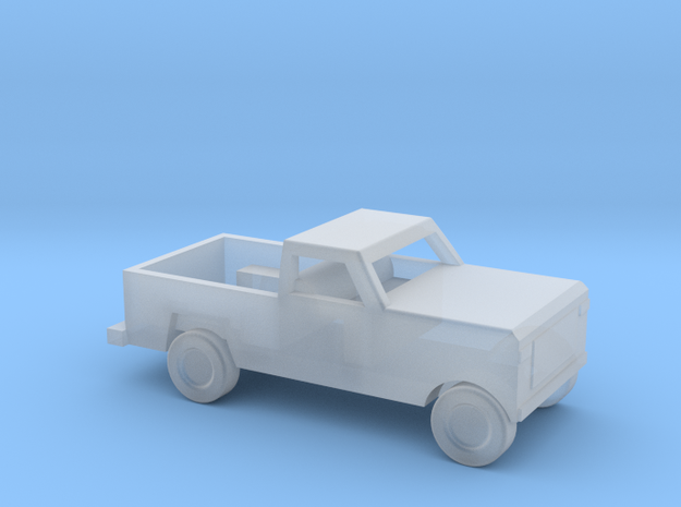 1/160 ScaleDodge Pickup in Smooth Fine Detail Plastic