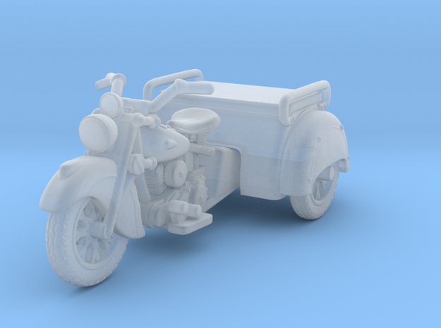 Indian Dispatch Tow    1:120 TT in Smooth Fine Detail Plastic