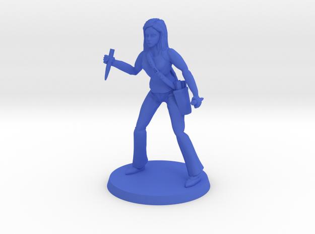 Lara the Slayer 2 in Blue Processed Versatile Plastic