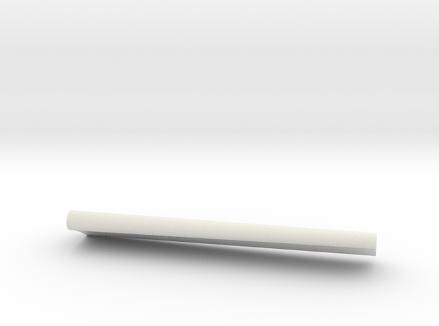 04-GIVSP-144scale-Flap-Portside-Extended in White Natural Versatile Plastic
