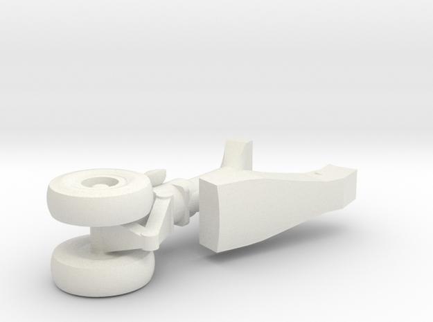 13-GIVSP-144scale-FwdLandingGear-Compressed in White Natural Versatile Plastic